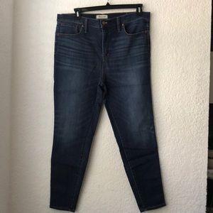 """Madewell 10"""" High-Rise Skinny Jean"""